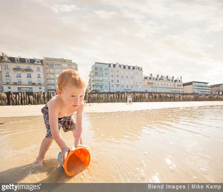Pour vos vacances en France direction la Bretagne et les plages de Saint-Malo par exemple !